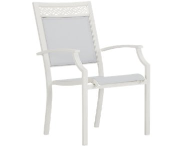 Charleston White Sling Chair
