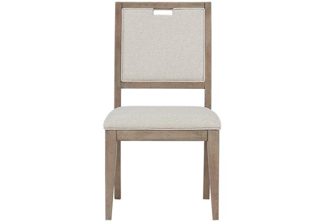 Gramercy Light Tone Upholstered Side Chair