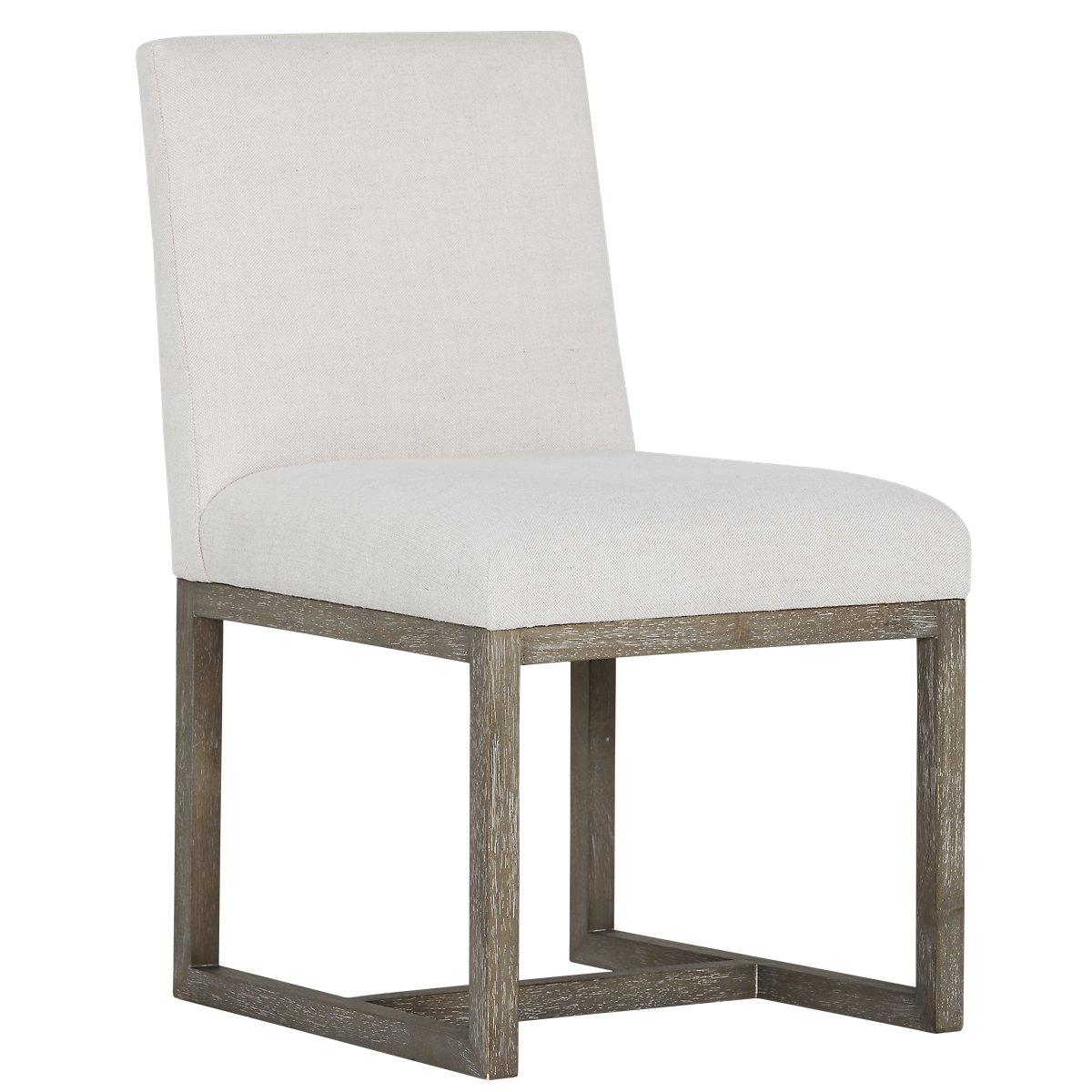 city furniture berlin white upholstered side chair. Black Bedroom Furniture Sets. Home Design Ideas