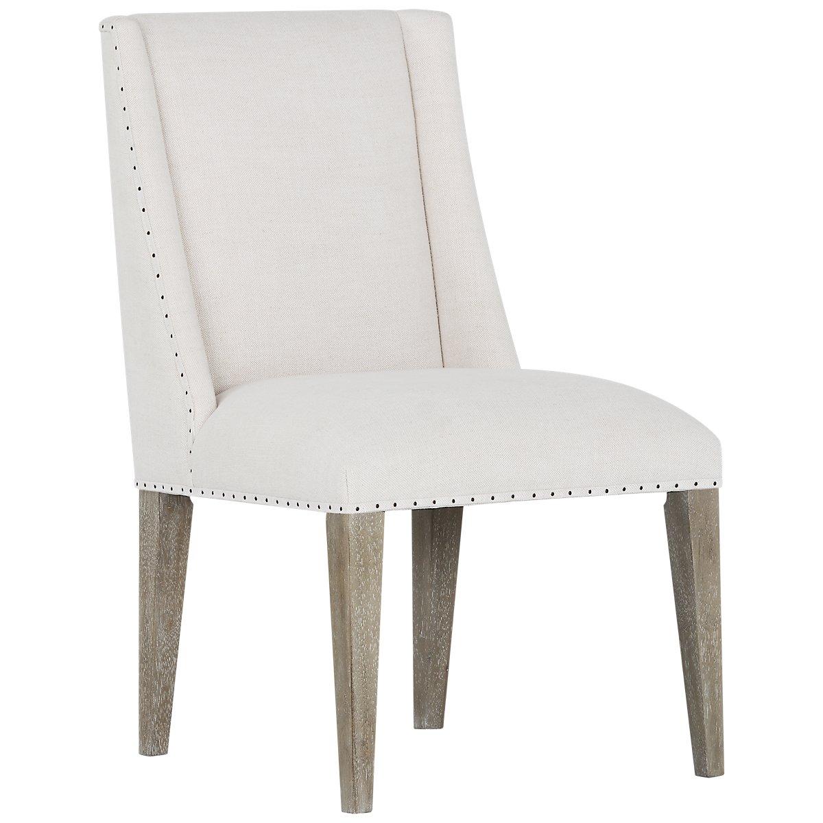 city furniture berlin white upholstered arm chair. Black Bedroom Furniture Sets. Home Design Ideas