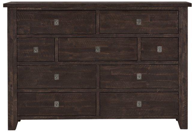 Kona Grove Dark Tone Wood Dresser