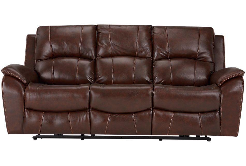 Peachy Memphis Medium Brown Lthr Vinyl Power Reclining Sofa Pdpeps Interior Chair Design Pdpepsorg