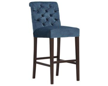 """Sloane2 Blue 30"""" Upholstered Barstool"""