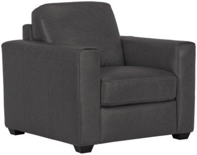 Lane Dark Gray Leather \u0026 Vinyl Chair  sc 1 st  City Furniture & City Furniture: Lane Dark Gray Leather \u0026 Vinyl Chair