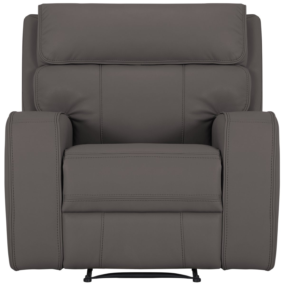 City Furniture Rhett Gray Microfiber Manually Reclining