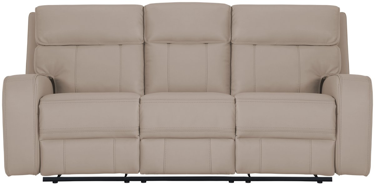 City Furniture Rhett Taupe Microfiber Power Reclining Sofa ~ Best Place To Buy Reclining Sofa