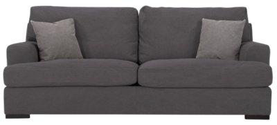 Samson Dark Gray Fabric Sofa