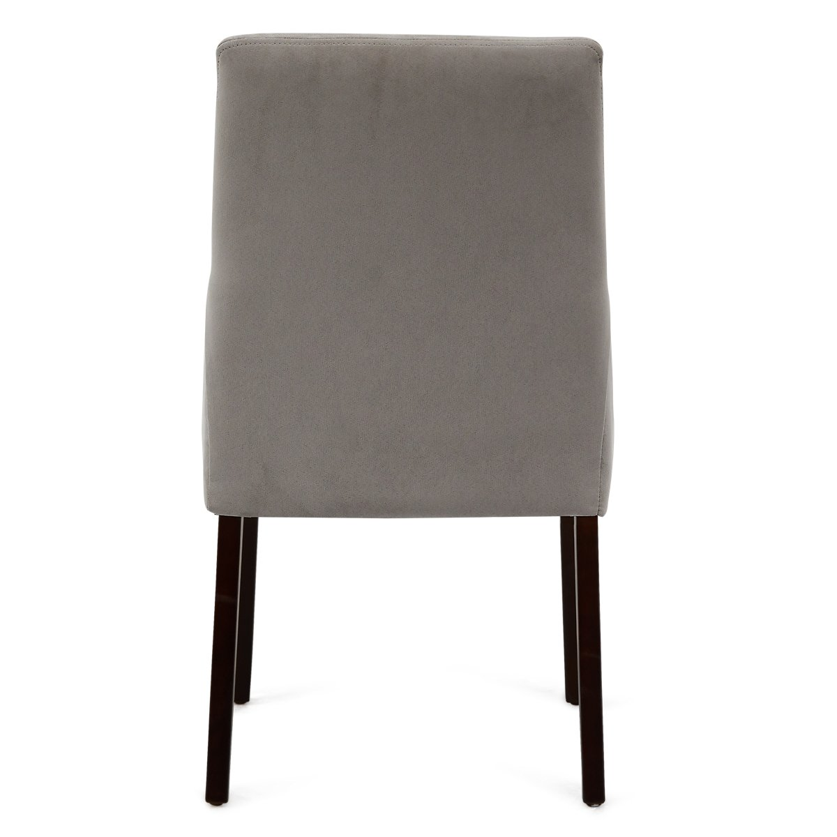 Tito Light Gray Microfiber Upholstered Side Chair | Dining ...