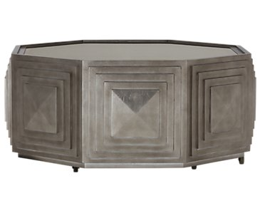 Mosaic Light Tone Round Coffee Table