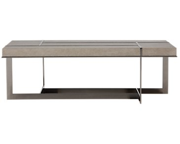 Mosaic Light Tone Rectangular Coffee Table