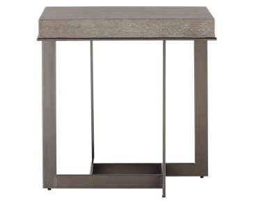 Mosaic Light Tone Square End Table