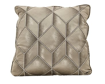 "Adriana Pewter 22"" Down Accent Pillow"