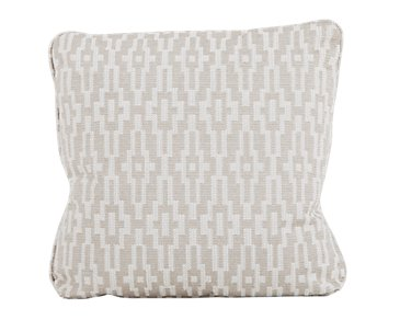 """Adriana Dark Taupe 22"""" Down Accent Pillow"""