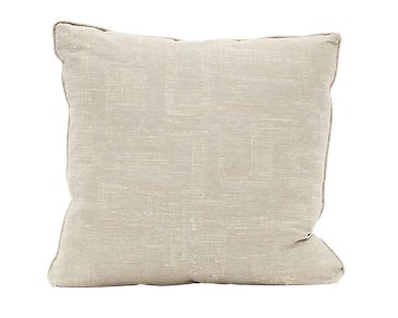 """Adriana Light Taupe 24"""" Down Accent Pillow"""