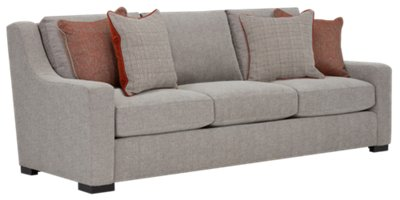 Germaine Gray Fabric Sofa. VIEW LARGER