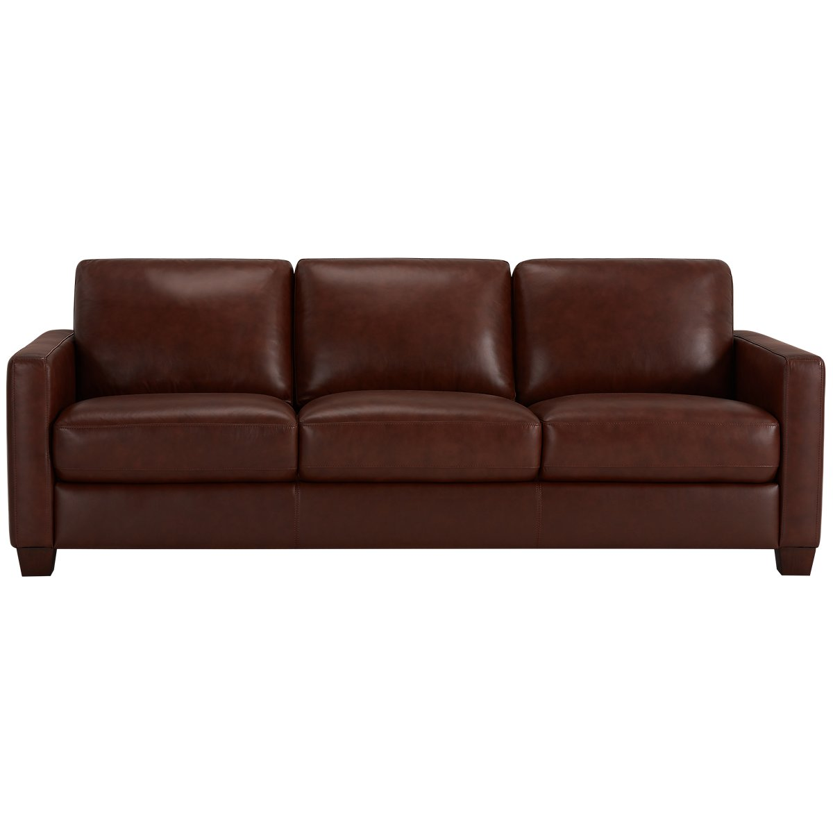 brown leather sofa isolated - photo #30