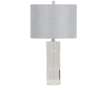 Amberlyn Clear Table Lamp