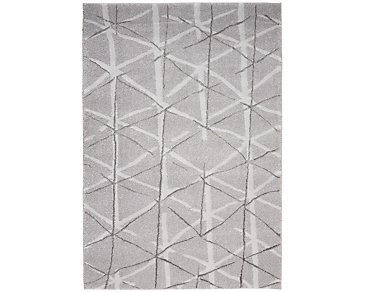 Ingenue Gray 5X7 Area Rug
