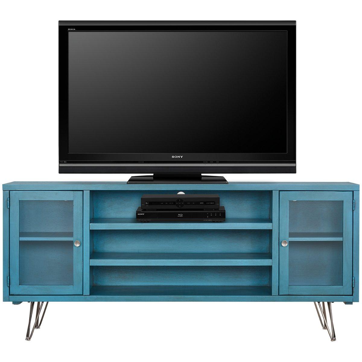 """Studio Blue 74"""" TV Stand"""