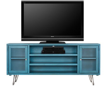 "Studio Blue 74"" TV Stand"
