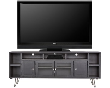 "Studio Black 84"" TV Stand"