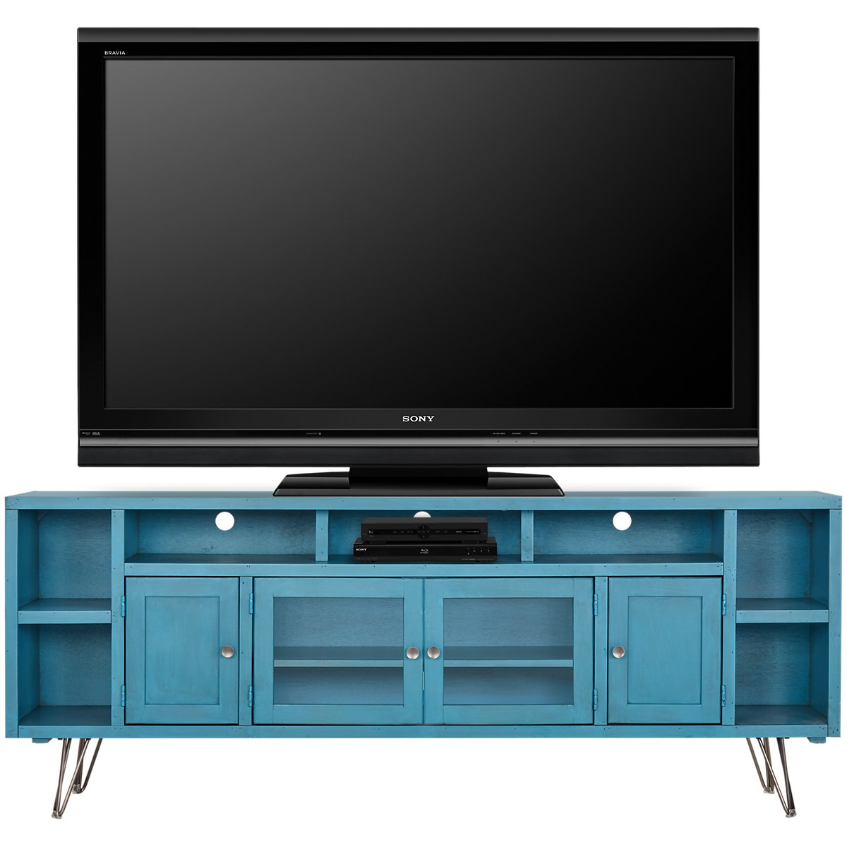 "Studio Blue 84"" TV Stand"