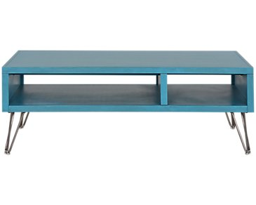 Studio Blue Square Coffee Table