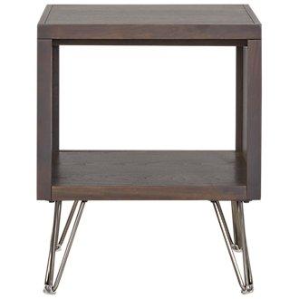 Studio Dark Tone Square End Table