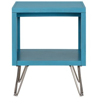 Studio Blue Square End Table