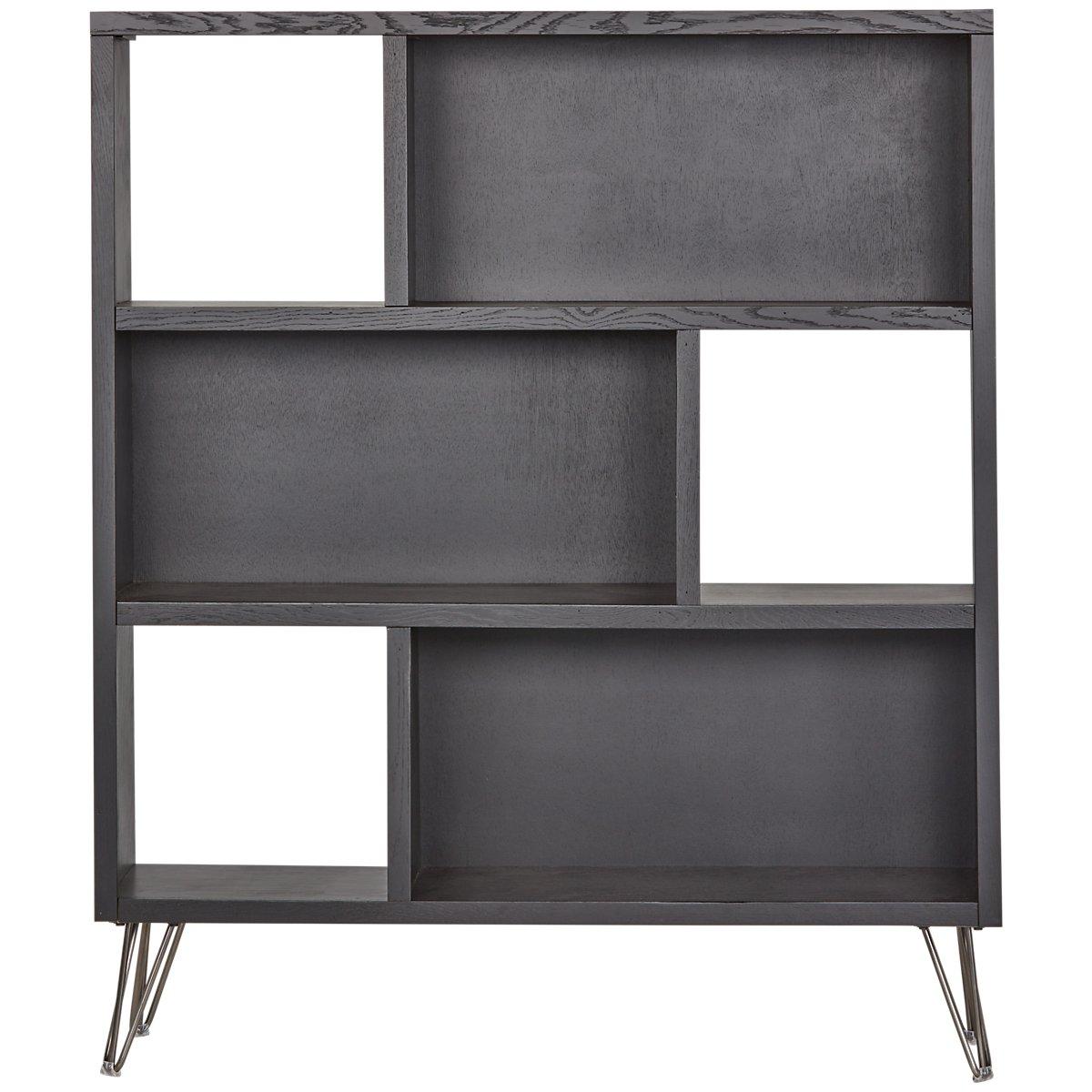 Studio Black Open Bookcase