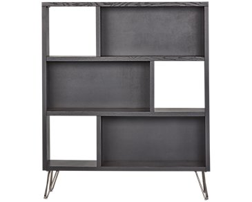 Studio Black Open Bookcase