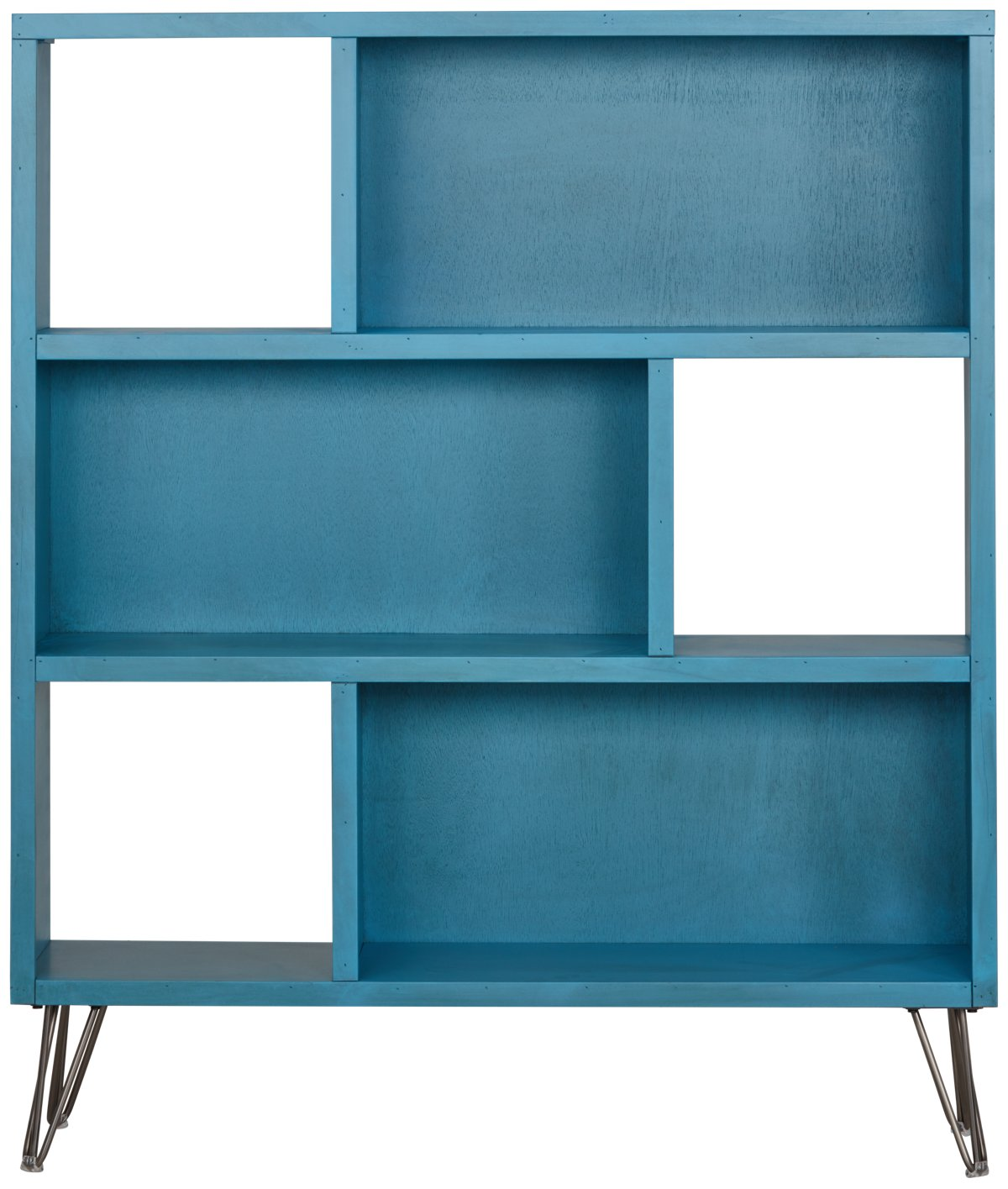 Blue Bookcase city furniture: studio blue bookcase