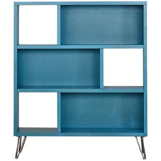 Studio Blue Open Bookcase