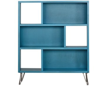 Studio Blue Open Bookcase