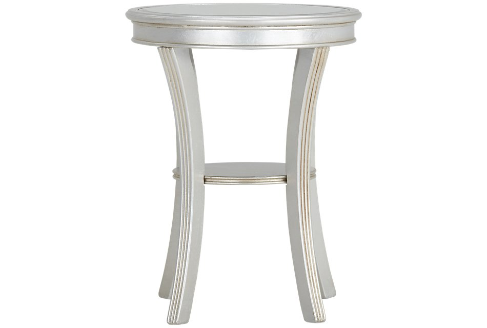 Zadie Silver  Accent Table