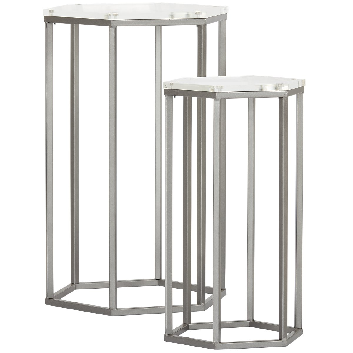 City furniture kati glass nesting tables kati glass nesting tables watchthetrailerfo