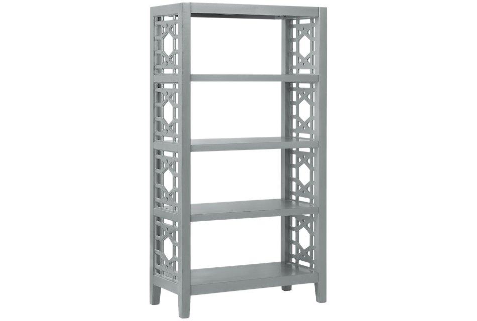Joplin Gray  Bookcase