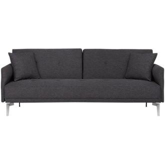 Amani Dark Gray Sofa Futon