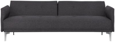 Amani Dark Gray Sofa Futon