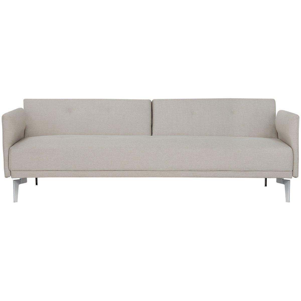 Amani Beige Sofa Futon View Larger