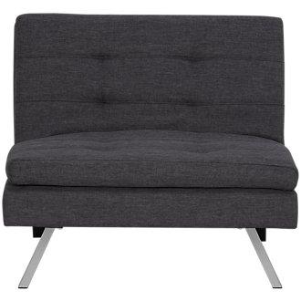 Amani Dark Gray Chair Futon