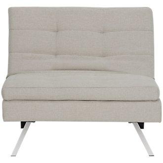 Amani Beige Chair Futon
