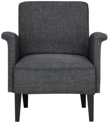 Cute Grey Accent Chair Design