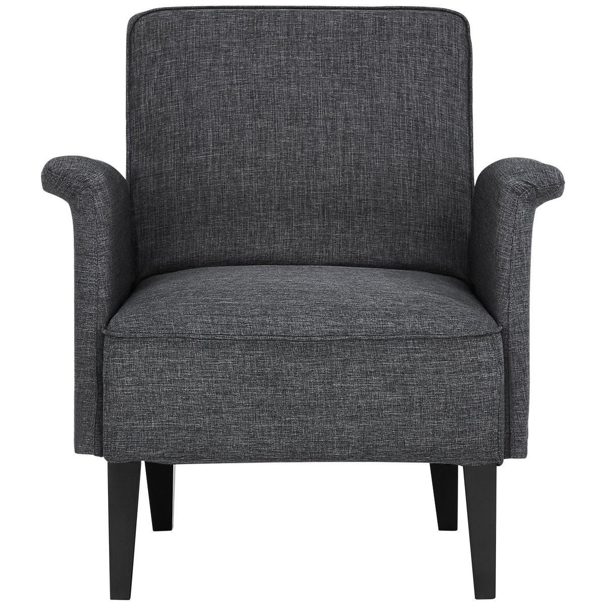 nigel dark gray accent chair view larger. city furniture nigel dark gray accent chair