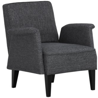 Nigel Dark Gray Accent Chair
