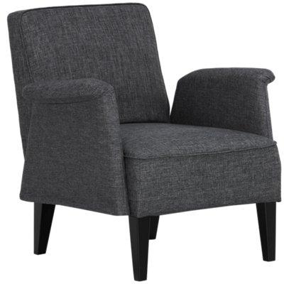 Nigel Dark Gray Accent Chair