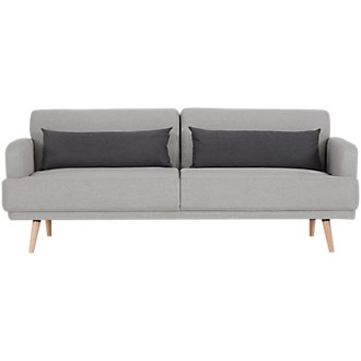Sage Light Gray Sofa Futon
