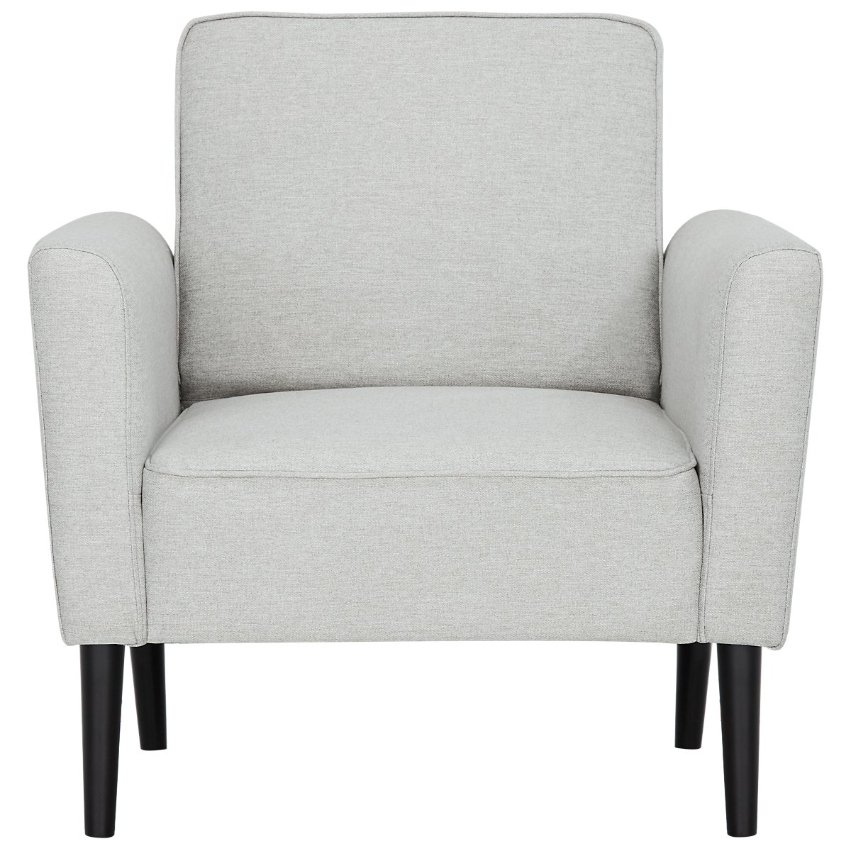 Sage light gray accent chair