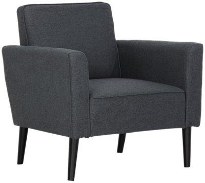 sage dark gray accent chair