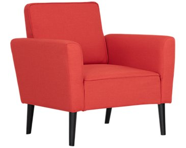 Sage Orange Accent Chair